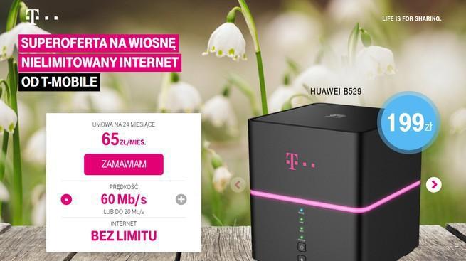 T-Mobile Polska podnosi ceny nielimitowanego internetu  Wersja do 20